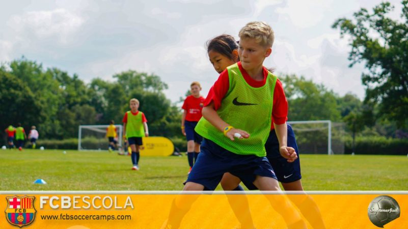 Turnstyles Football Camps with Barcelona Football Club