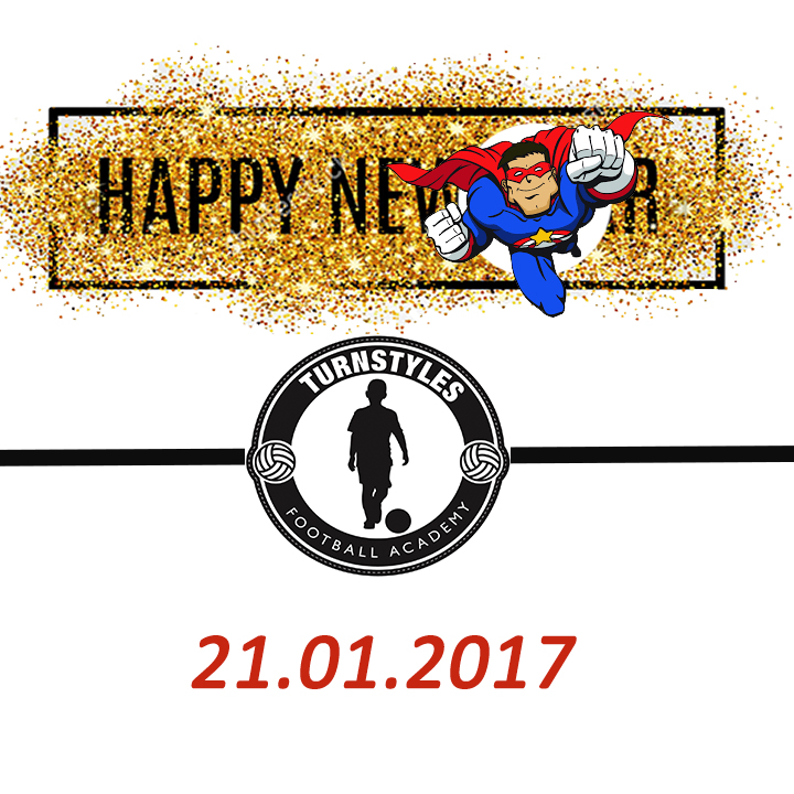 New Year Party! - Turnstyles Football Academy